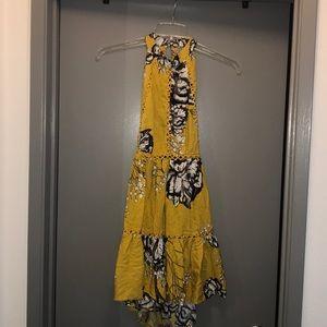 Flirty yellow dress